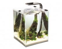 Аквариум Aquael Shrimp Set Smart для креветок, квадрат черный 10 литров