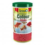 Корм для прудовых рыб Tetra Pond Colour Sticks 1л плавающие гранулы для окраса