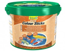 Корм Tetra Pond Colour Sticks 10л/1.9кг плавающие гранулы для окраса