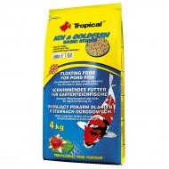 Корм для прудовых рыб Tropical Koi & Gold Basic Sticks 50л, 4 кг основной корм