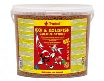 Корм Tropical Koi & Gold Color Sticks 5л для усиления окраса