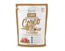 Сухой корм Brit Care Cat 0,4 кг Cocco I am Gourmand для привередливых кошек