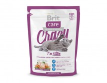 Сухой корм Brit Care Cat 0,4 кг Crazy I am Kitten для котят 1 - 12 мес.