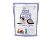 Сухой корм Brit Care Cat 0,4 кг Lilly I have Sensitive Digestion для кошек с чувствительным пищеварением