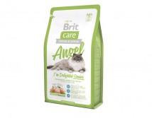 Сухой корм Brit Care Cat 2 кг Angel I am Delighted Senior для пожилых кошек
