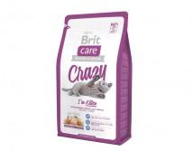 Сухой корм Brit Care Cat 2 кг Crazy I am Kitten для котят 1 - 12 мес.