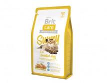 Сухой корм Brit Care Cat 2 кг Sunny I have Beautiful Hair для здоровья кожи и шерсти