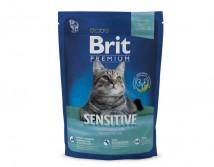 Сухой корм Brit Premium Cat Sensitive 800 г для кошек c чувствительным пищеварением
