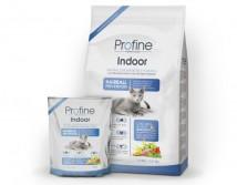 Сухой корм Profine Cat Indoor 1,5 кг курица, для выведения шерстяных комочков