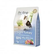 Сухой корм Profine Cat Light 2 кг для оптимизации веса, с индейкой, курицей и рисом
