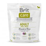 Сухой корм Brit Care Adult Small Breed Lamb & Rice 1 kg (для собак весом до 10 кг)