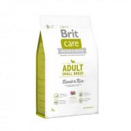Сухой корм Brit Care Adult Small Breed Lamb & Rice 3 kg (для собак весом до 10 кг)