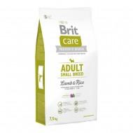 Сухой корм Brit Care Adult Small Breed Lamb & Rice 7,5 kg (для собак весом до 10 кг)