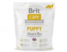 Сухой корм Brit Care Puppy Lamb & Rice 1 kg (для щенков всех пород)