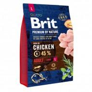 Сухой корм Brit Premium Adult L 3 kg (для взрослых собак крупных пород)