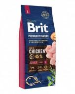 Сухой корм Brit Premium Junior L 15 kg (для щенков и молодых собак крупных пород)