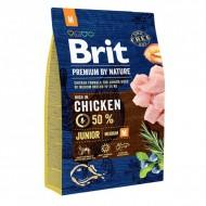 Сухой корм Brit Premium Junior M 3 kg (для щенков и молодых собак средних пород)