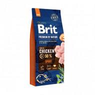 Сухой корм Brit Premium Sport 15 kg (для собак с повышенными физическими нагрузками)