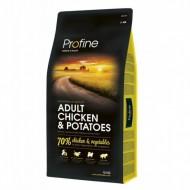 Сухой корм Profine Adult Chicken & Potato 15 kg (для взрослых собак)