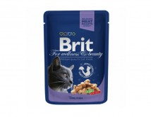 Консервы Brit Premium Cat pouch 100 г треска