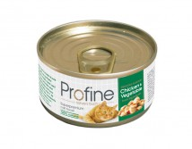 Консервы Profine Cat k 70г курица с овощами