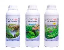 Aquayer (Украина) Набор удобрений Aquayer Микро+Макро+Альгицид+СО2 1 л