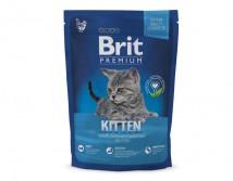 Сухой корм Brit Premium Cat Kitten 1,5 кг  для котят 1-12 мес