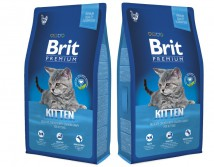 Сухой корм Brit Premium Cat Kitten 8 кг  для котят 1-12 мес