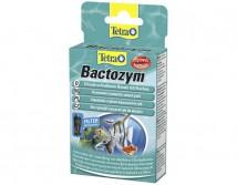 Стимулятор биологической активности Tetra Bactozym 10 капсул на 1000 л кондиционер с культурой бактерий