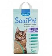 Наполнитель бентонитовый Природа Sani Pet 5 кг средний