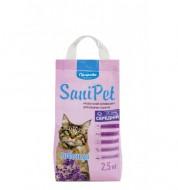 Наполнитель бентонитовый Природа Sani Pet 2,5 кг средний с лавандой
