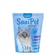 Наполнитель силикагелевый Природа Sani Pet 3,8 литров для кошек