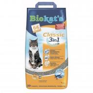 Наполнитель бентонитовый Biokats Classic (3in1) 20 литров