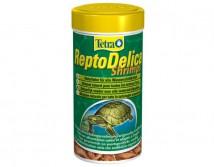 Корм Tetrafauna ReptoDelica Shripms 250 ml, для всех видов черепах