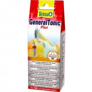 Лекарство Tetra Medica General Tonic Plus 20мл на 500 л от бактерий и паразитов, дезинфицируют аквариумную воду