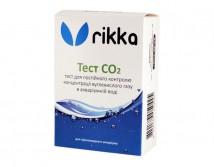 Тест Rikka CO2 с дропчеккером на углекислый газ в воде