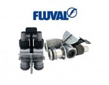 Адаптер под шланги Aqua Stop клапан к фильтрам Hagen Fluval 105, 205, 305, 405