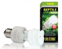 Лампа Hagen Exo Terra Repti Glo 5.0, 13W, UVB100 Е27 для тропических и субтропических рептилий