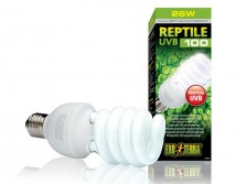 Лампа Hagen Exo Terra Repti Glo 5.0, 26W, UVB100 Е27 для тропических и субтропических рептилий