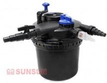 Фильтр прудовый SunSun CPF 5000 напорный с УФ, для водоёмов до 8 м³