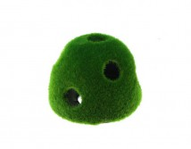 Декорация Aqua Nova зеленый холм 125#-7 7x6 cм