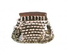 Керамическая декорация Aqua Nova,Руины средние 12,5x8x7,5cm