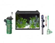 Аквариумный комплект Eheim aquaproLED 84 литра черный