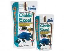 Корм Hikari Cichlid Excel mini 57g для малавийских цихлид, гранулы 3-3,4 мм