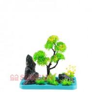 Набор SunSun FZ 106 декорация с пластиковым растением