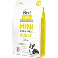 Сухой корм Brit Care GF Mini Adult Lamb 2 kg (для взрослых собак миниатюрных пород)