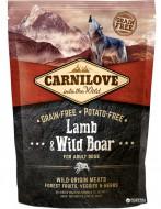 Сухой корм Carnilove Adult Lamb & Wild Boar 1.5 kg (для взрослых собак)