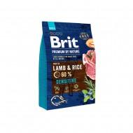 Сухой корм Brit Premium Sensitive Lamb & Rice 3 kg (для собак с чувствительным пищеварением)