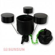 Прудовый скиммер SunSun CSP 250A на поплавках, для прудов до 25м²