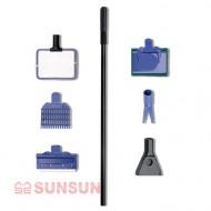 Набор аксессуаров 5 в 1 Sunsun SX-05 для обслуживания аквариума, 48см длиной